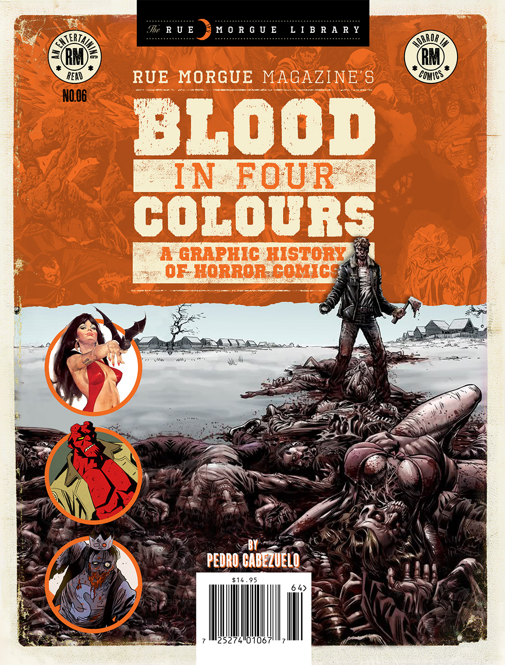 Rue Morgue Blood In Four Colours